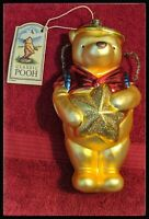 Midwest of Cannon Falls Blown Glass Classic Pooh ornament 1998 made in Germany