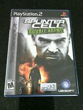 Splinter Cell Double Agent Sony PlayStation 2, Tom Clancy's 2006 Lethal Game PS2
