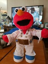 "2000 Mattel Sesame Street Singing and Dancing Elvis Elmo Doll 15"" EUC"