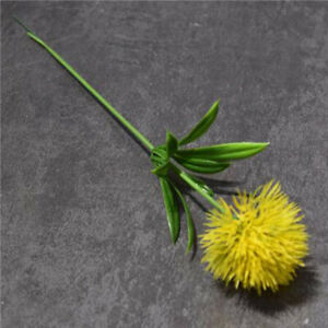Home Artificial Flowers Real Touch Dandelion Fake Plants Plastic Flowers Decors*