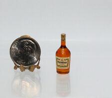 Dollhouse Miniature Plastic Hennessy Cognac Bottle