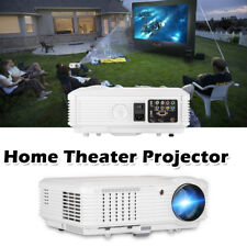4500lm LED Home Cinema Projector Multimedia Bedroom Movie Game HDMI USB VGA TV