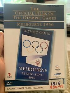 THE OFFICIAL FILMS OF THE OLYMPIC GAMES - Melbourne 1956 (Aust Reg 4) DVD
