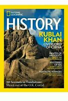 National Geographic History Magazine March April 2020 KUBLAI KHAN Overlord China