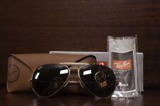 Ray-Ban Outdoorsman II Sunglasses RB3029 L2112 GOLD / GREEN CLASSIC LENS 62MM