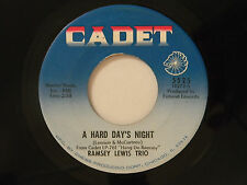 Ramsey Lewis Trio 45 A HARD DAY'S NIGHT / ALL MY LOVE BELONGS TO YOU~CADET VG