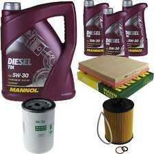 Paquete de inspección 8 l MANNOL diésel TDI 5w-30 + hombre filtro paquete 10936184