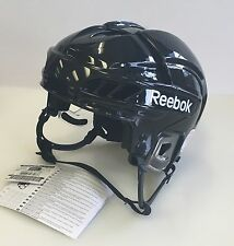 New Reebok 11K VN Olympics Pro Stock/Return size medium black ice hockey helmet