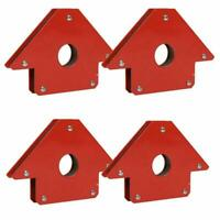 4x 25Lb Magnetic Magnet Arrows Welder Welding Holder 3 Angles Soldering