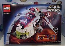 Lego Star Wars Republic Gunship 7163 New