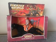 VINTAGE SOMA NIB BOX 1983 Fantasy World Action Warrior Play Set