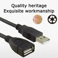 USB EXTENSION CABLE 1.5/3/5m USB2.0 Male to Female Ring Extender Magnetic U T0J5