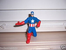 "Marvel CAPTAIN AMERICA Toy Figure McDonald's 3 1/4"" Tall  2010"