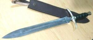 Custom handmade knife king's Damascus Steel Knight Sword