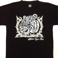 "Thai White Tiger tee shirt 2 Sided Print LARGE 42"" -44"" Tee MD043"
