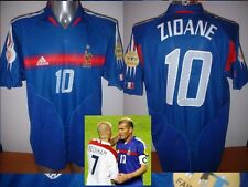 France Adidas Adulte S Zidane Football Soccer shirt jersey vintage Real Madrid