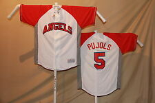 ALBERT PUJOLS Los Angeles Angels of Anaheim   Genuine MLB JERSEY   Large    NWT