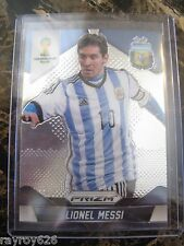 LIONEL MESSI*ARGENTINA*BARCELONA* SOCCER CARD*PRIZM 2014*WORLD CUP