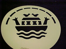 Noah's Ark Stencil Wilton Cake or Decorating Template Ship Boat