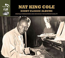 Nat King Cole EIGHT CLASSIC ALBUMS The Very Thought Of You COLE ESPANOL New 4 CD