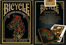 2 Decks Bicycle Warrior Horse Standard Poker Playing Cards New Sealed Decks