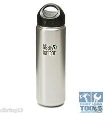 Klean Kanteen 27oz (800ml) Wide-Mouth 100% Stainless Interior Water Bottle