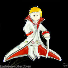 France Le Petit Prince Pin Brooch ~The Little Prince made with Swarovski Crystal