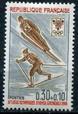FRANCE TIMBRE NEUF N° 1543  **  JEUX OLYMPIQUES SKI