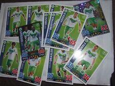 13 x VfL Wolfsburg UEFA Champs League Match Attax 2015/2016 Cards Topps Football