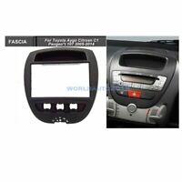 Car Stereo Radio Fascia Panel Frame Kit 2 Din For Toyota Aygo Citroen C1 Peugeot