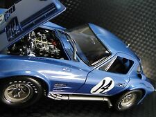 1967 Vette 1 Chevy Corvette Sport Race Car Exotic 24 Vintage 18 Carousel Blue 12