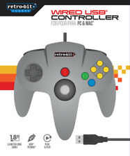 Nintendo 64 N64 RETRO GAMEPAD JOYPAD PC MAC Controller Raspberry RECALBOX USB