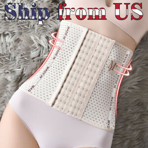 Waist Trainer Training Body Shaper Shapewear Underbust Cincher Tummy Belt Corset