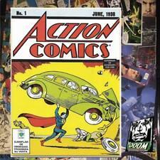 ACTION COMICS # 1 (REPRINT)  SUPERMAN, MEXICO Editorial vid 1998 assemblable