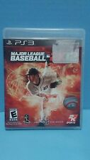 Major League Baseball 2K12 (Sony PlayStation 3, 2012) PS3