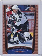 WENDEL CLARK 1998-99 UPPER DECK EXCLUSIVES #026/100 #369 TAMPA BAY