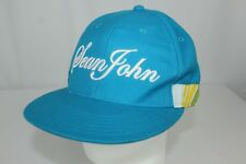 Sean John Blue and Striped 7 1/2 Fitted Hat Cap