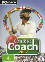 Pc Game - Cricket Coach 2007