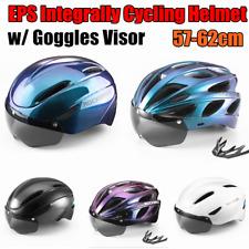 ROCKBROS Bicycle Helmet MTB Road Bike PC Riding Cycling Helmet w/ Goggle 57-62cm