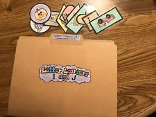 Learning Letter I and J literacy Centers File Folder Games PreK-K