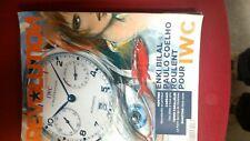 magazine  revue collector IWC montres REVOLUTION decembre 2010:BILAL,COELHO
