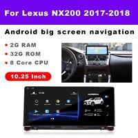 Navigation Stereo Player Head Unit For Lexus NX NX200 NX300 NX300h NX200t 2018