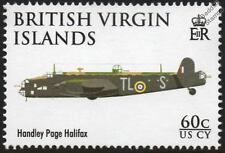 Handley Page HALIFAX WWII Bomber Aircraft Stamp (2008 RAF 90th Anniversary)