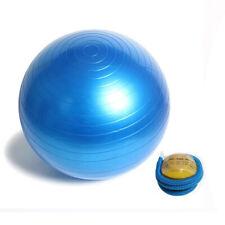 Palla fitness gonfiabile con pompa 65 cm pilater yoga ginnastica preparto