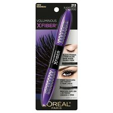 LOREAL Voluminous X-Fiber Superstar Mascara with primer Blackest Black 213 NEW