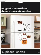 Scaredy Bat and Ghost Halloween Decoration Fridge Magnets
