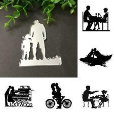 Father's Love Cutting Dies Metal Stencil Scrapbooking Album DIY Paper Card Z6Y3