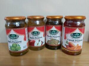 Murabba Energizing Rich In Taste  Amla.Apple.Carrot.Harrar.430g-Pack 2 or 4 pcs