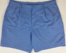 Slazenger - Golf Shorts - Light Blue - Pleated - Polyester - Men's size 40