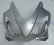 Front fairing nose Plastic Cowl Fit For HONDA CBR600 F4i 2001-2006 2004 Silver